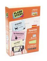 Flashsticks Spanish - beginners box set (sticky notes + booklets)