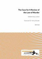 The Case for A Review of the Law of...