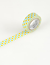 Square Yellow Mt Tape