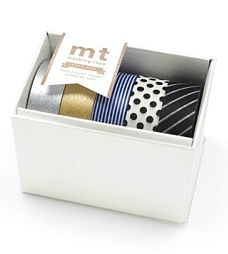 Monochrome Gift Box mt tape