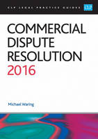 Commercial Dispute Resolution: 2016