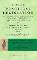 Thring's Practical Legislation: The...