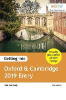 Getting into Oxford & Cambridge 2019...
