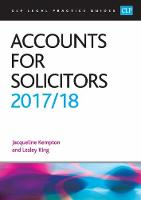Accounts for Solicitors 2017/2018