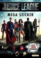 Justice League Mega Sticker