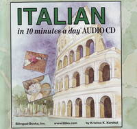 Italian in 10 Minutes a Day Audio CD...
