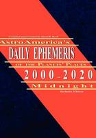 AstroAmerica's Daily Ephemeris...