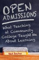 Open Admissions: What Teaching at...
