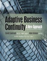 Adaptive Business Continuity: A New...