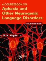 A Coursebook on Aphasia and Other...