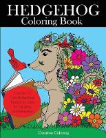 Hedgehog Coloring Book: Cute ...