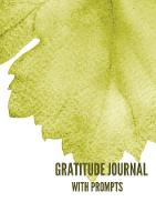 Gratitude Journal with Prompts: 52...