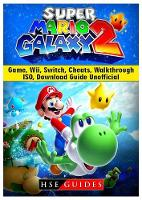 Super Mario Galaxy 2 Game, Wii,...