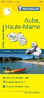 Aube, Haute-Marne, France Local Map 313