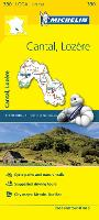 Cantal, Lozere, France Local Map 330