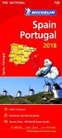 Spain & Portugal 2018 National Map...