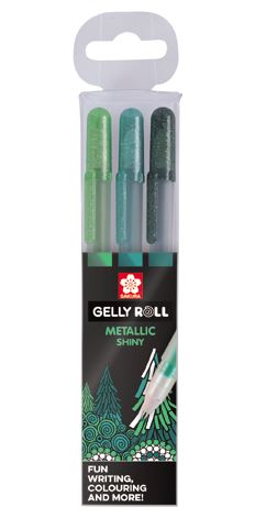 GELLY METALLIC FOREST SET 3
