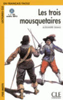 Les Trois Mousequetaires - Book + CD MP3