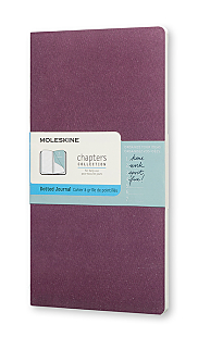 Chapters Plum Purple Slim Pocket Dotted
