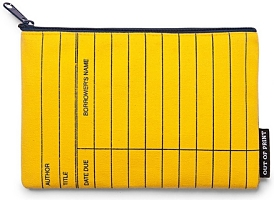 Library Card Yellow Case