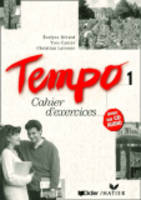 Tempo 1 - exercise book with audio CD