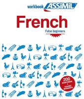 Assimil French workbook: False beginners