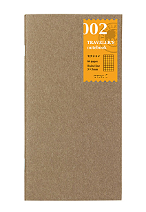 Travllers Notebook Grid Refill 002