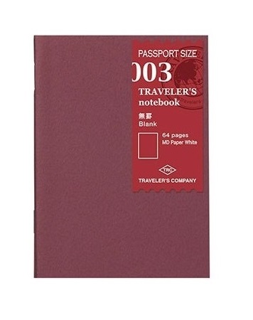 Traveler's Passport Notebook Refill...