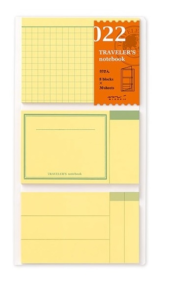 Traveler's Notebook Sticky Notes 022