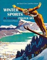 The Winter Sports in Vintage Poster...