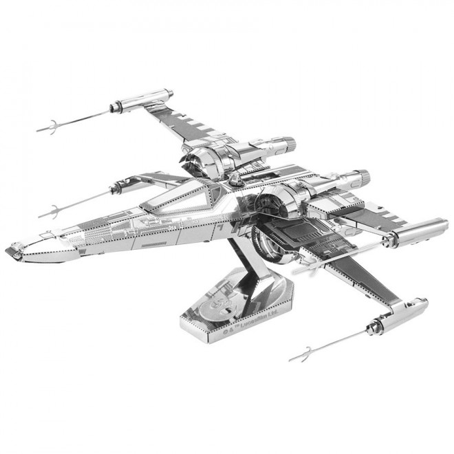 X-Wing Fighter 3D Metal Model