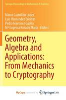 Geometry, Algebra and Applications:...