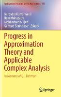 Progress in Approximation Theory and...