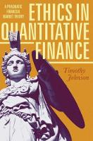 Ethics in Quantitative Finance: A...
