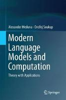 Modern Language Models and...