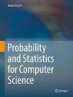 Probability and Statistics for...
