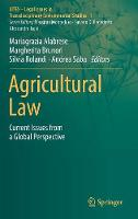 Agricultural Law: Current Issues from...