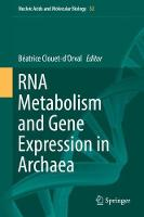 RNA Metabolism and Gene Expression in...
