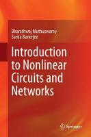 Introduction to Nonlinear Circuits ...