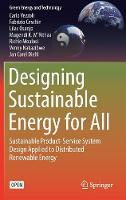Designing Sustainable Energy for All:...