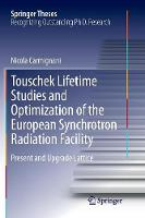 Touschek Lifetime Studies and...