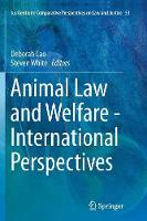 Animal Law and Welfare - ...