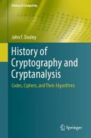 History of Cryptography and...