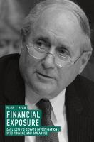 Financial Exposure: Carl Levin's...