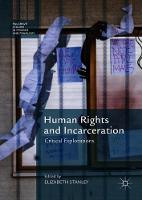 Human Rights and Incarceration:...