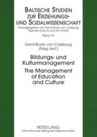 Bildungs- Und Kulturmanagement The...
