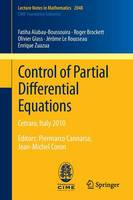 Control of Partial Differential...