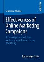 Effectiveness of Online Marketing...