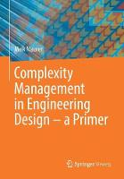 Complexity Management in Engineering...