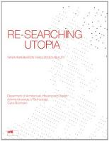 Re-Searching Utopia: When Imagination...
